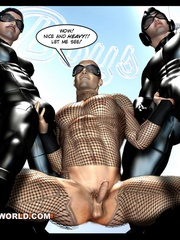 Sexy Spiderman goes nuts in these gay cartoons. Tags: - Picture 14