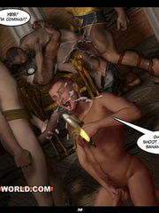 Gay guards fucking a prisoner in sex anime. Tags: gay - Picture 14