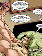 Nice morning gay fuck on cartoon porn. Tags: adult - Picture 6