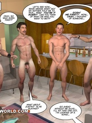 Nice orgy in these gay cartoons. Tags: adult - Picture 11