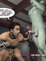 Hard as a rock for his creation in this cartoons - Picture 15