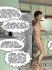 Sexy cartoons with gay dudes fucking each other hard. - Picture 3