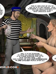 Captain Nemo likes it doggy style in gay cartoons. - Picture 3