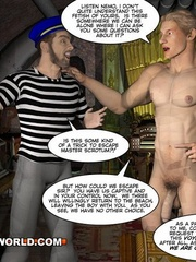Captain Nemo likes it doggy style in gay cartoons. - Picture 6
