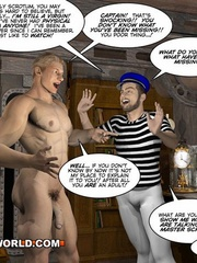 Captain Nemo likes it doggy style in gay cartoons. - Picture 11