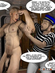 Captain Nemo likes it doggy style in gay cartoons. - Picture 12