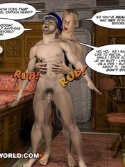 Captain Nemo likes it doggy style in gay cartoons. - Picture 13