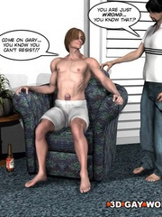 Hot 3d sex scenes with two handsome guys. Tags: sexy - Picture 6