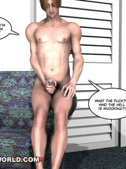 Hot 3d sex scenes with two handsome guys. Tags: sexy - Picture 14