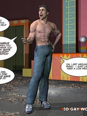 One huge big dick for you in this free cartoon sex. - Picture 9
