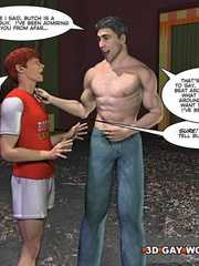 One huge big dick for you in this free cartoon sex. - Picture 10