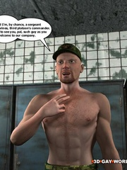 Hot gay cartoons at the prison's shower. Tags: adult - Picture 8
