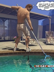 Gay cartoons sex at the pool with the pool boy. Tags: - Picture 1