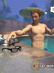 Gay cartoons sex at the pool with the pool boy. Tags: - Picture 3