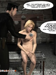 Sexy cartoons about a cop fucking a gay prisoner. - Picture 6