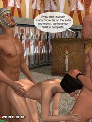 Free sex cartoons with two guys and a girl having - Picture 4