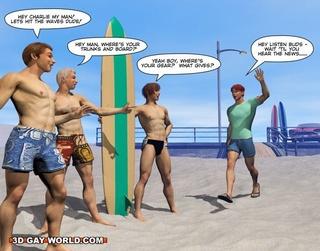 gay male cartoons fun