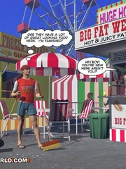 Gay male cartoons having fun at the carnival. Tags: - Picture 6