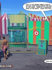Gay male cartoons having fun at the carnival. Tags: - Picture 12