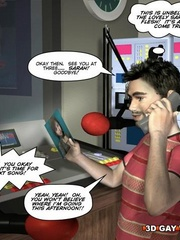 Kinky cartoon xxx a gay dude fucking a she-male. - Picture 3