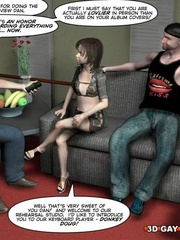 Kinky cartoon xxx a gay dude fucking a she-male. - Picture 4
