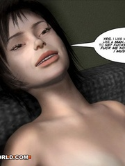 Kinky cartoon xxx a gay dude fucking a she-male. - Picture 14