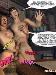 One good gay fuck at the sea in free sex cartoons. - Picture 2