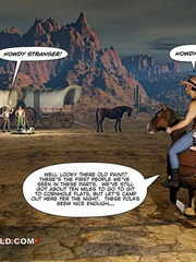 A good wild west gay ride in these gay male cartoons. - Picture 2