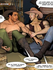A good wild west gay ride in these gay male cartoons. - Picture 7