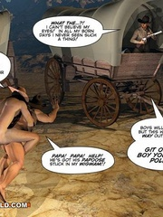 A good wild west gay ride in these gay male cartoons. - Picture 14