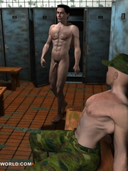 Hot fuck in the army in these adult cartoons. Tags: - Picture 4