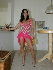 Xxx lusty wife taking off her short dress - XXX Dessert - Picture 1