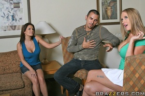 Abby and Austin hook up with big cocked  - XXX Dessert - Picture 5