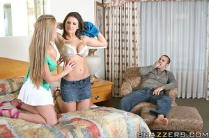 Abby and Austin hook up with big cocked  - XXX Dessert - Picture 6