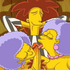 Sex hungry Simpsons cartoons are real pro in cock - Picture 3