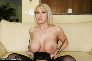 Wife Candy getting Naughty in Lingerie - XXX Dessert - Picture 10