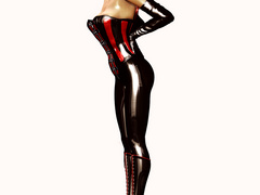 Hot delicious 3d nymphs wearing latex willingly - Picture 2