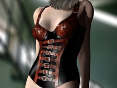 3d dirty bimbos in exclusive rubber body suits - Picture 3