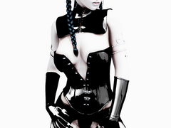 3d dirty bimbos in exclusive rubber body suits - Picture 5
