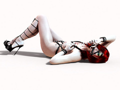 Hot xxx pics of 3d chicks in latex outfit expsoing - Picture 5