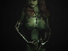 Adorable xxx pics of latex dressed 3d chicks showing - Picture 4