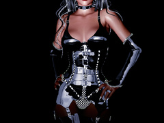 Smoking hot 3d babes in latex uniform willinly - Picture 6