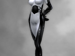 3d nasty nymphs in color latex uniform looking so - Picture 2