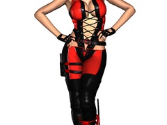 Lusty 3d hottie in exclusive latex outfits are rel - Picture 5