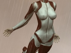 Naughty 3d bumbos in latex lingerie going wild while - Picture 2