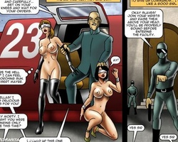 Girl are hunted by slave cops and taken - BDSM Art Collection - Pic 4