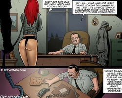 Poor redhead slave cutie gets her ass - BDSM Art Collection - Pic 1