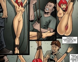 Submissive redhead hottie received - BDSM Art Collection - Pic 6