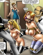 Busty slave girls are victims of perverted fantasies of their capturers.