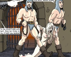 Sexy young girls accused in withcraft - BDSM Art Collection - Pic 2